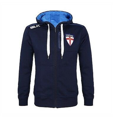 ENGLAND RUGBY LEAGUE HOODED SWEATSHIRT (XL) NEW rrp £60