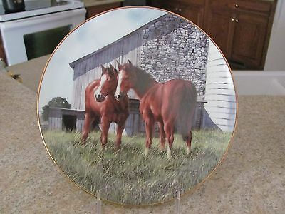 """L.e. Horse Plate - """"the Yearlings"""" - Donald W. Patterson"""