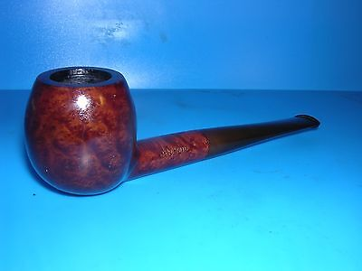 Smoking Pipe Limited Pyramid Lightly Smoked Apple Billiard Estate Pipe VGC