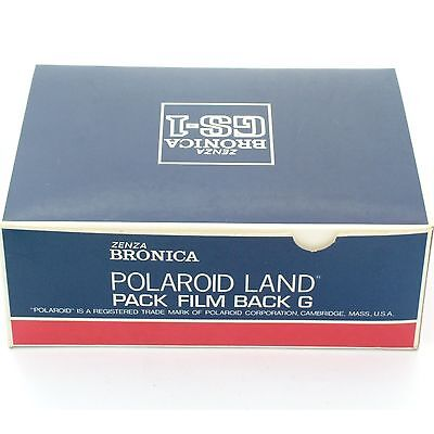 Bronica GS-1 Polaroid Back, boxed, mint condition