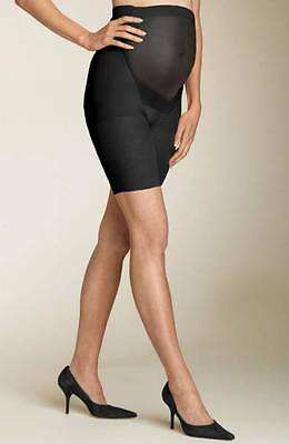 Spanx Mama Maternity Shaper Short 163 All Day Support Black Size B  New $38