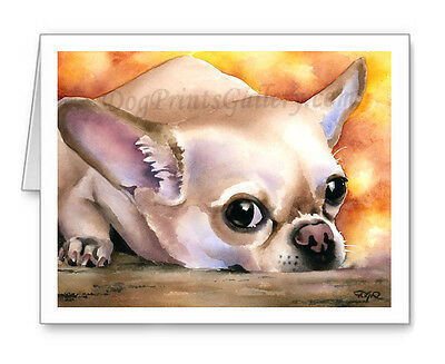 Chihuahua Set of 10 Note Cards With Envelopes