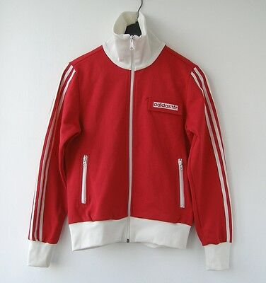 Adidas Original 2000's Red Track Top Jacket Jersey size 40 / USA M Womens