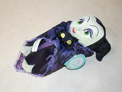 """Disney Parks Villains Maleficent Babies Plush Doll Toy with Blanket 10"""" H (NEW)"""