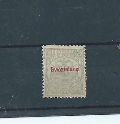 Swaziland stamps. 1892 Transvaal stamp  (Y314)