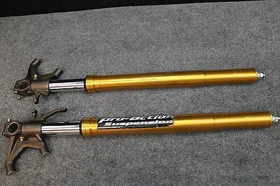 2005 Zx 6R 636 Zx6 Zx636 Left and Right Fork Front Suspension Forks 05 06