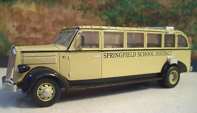 """New In Box  1/48 1936 White 706 Bus """"Springfield School District"""""""