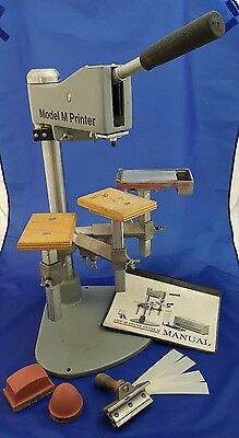 M Print Central Model M Bench Top Pad Printer