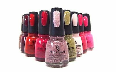 China Glaze Nail Polish Color POOLSIDE Collection Variations # 872-877 .5oz/15mL