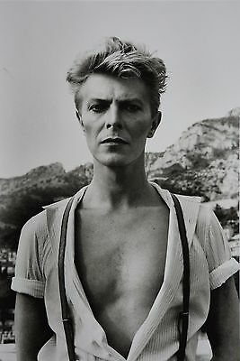 Helmut Newton Sumo Photo 50x70 David Bowie 1983 The Woodchopper Italy 1986 Nude