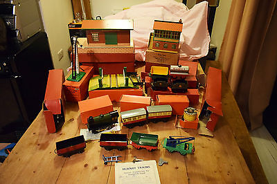O Gauge Hornby Job Lot Engine Station Track Signals Carriages And More
