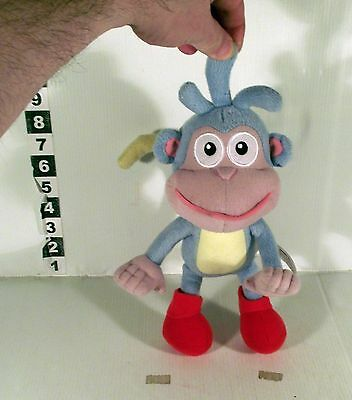 """10"""" Talking  Boots Monkey Soft Toy Dora The Explorer - Bendy Arms & Tail"""