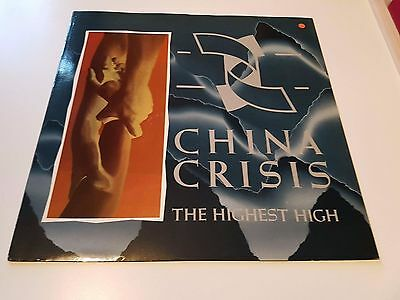 "CHINA CRISIS - The Highest High ~12"" Vinyl Single"