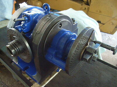 Indexing-Dividing Head For Milling Machine