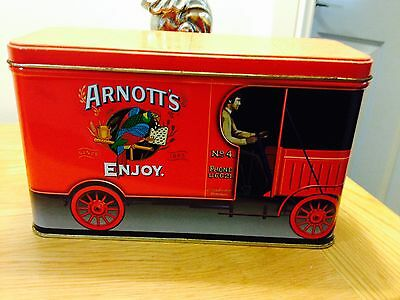 Arnotts Biscuits Red Truck Tin 450g Arnott's
