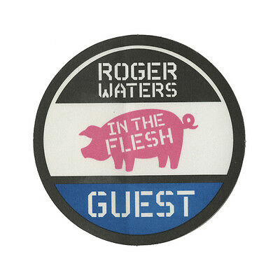 Roger Waters authentic Guest 1999-2002 tour Backstage Pass