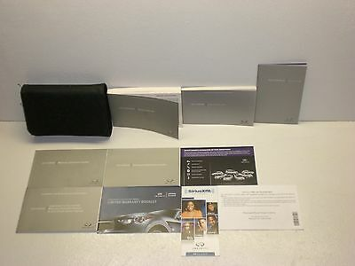 2013 Infiniti JX Owners & Navigation Manual with Case