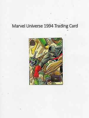 1994 Marvel Universe Trading Card #31  Blood Ties - US Agent