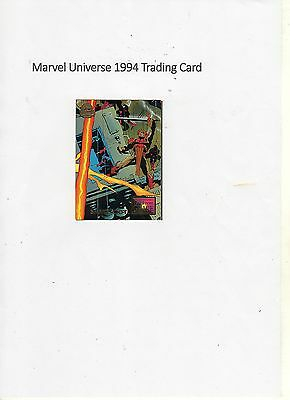 1994 Marvel Universe Trading Card #68 Fall from Grace - Snakeroot