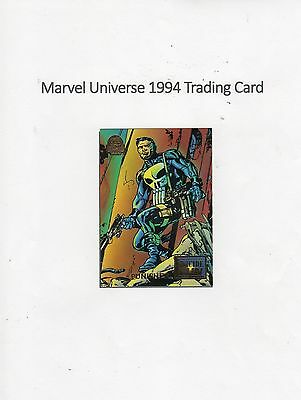 1994 Marvel Universe Trading Card #48 Suicide Run - Punisher