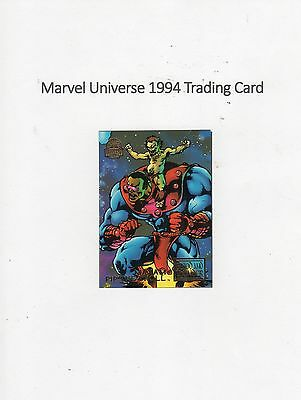 1994 Marvel Universe Trading Card #57 Blood & Thunder - Maxam / Pip the Troll