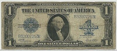 1923 US $1 Silver Certificate Large Size Note