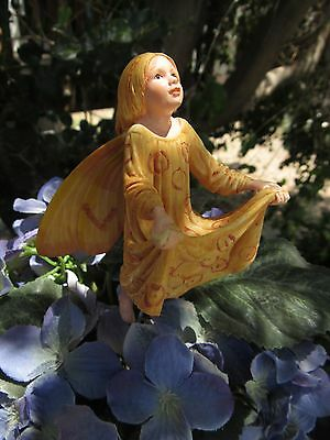 Cicely Mary Barker CRAB APPLE Flower Fairy Ornament Figurine RETIRED #87004 NEW!