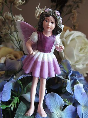 Cicely Mary Barker HELIOTROPE Flower Fairy Ornament Figurine RETIRED #86920 NEW!