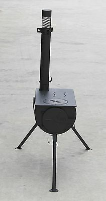 Portable Camping Wood Stove Wood Heater Pot Belly Frontier Stove Fire Fireplace