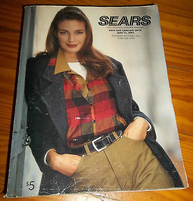 SEARS 1992 1993 ANNUAL CATALOG big thick full of 90s Sears fashions