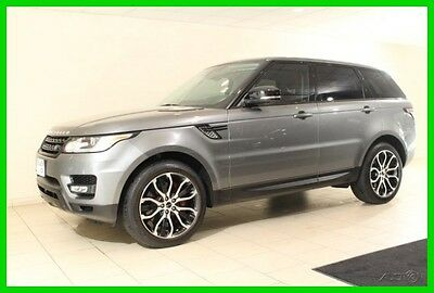 2014 Land Rover Range Rover Sport Autobiography 2014 Autobiography Used 5L V8 32V Automatic 4WD Premium
