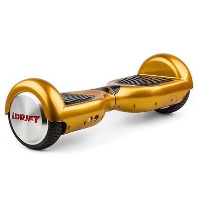 """Idrift Self-Standing Gyro Scooter 6.5"""" - Gold Color"""