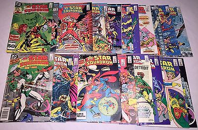 All-Star Squadron 21 iss lot 28 34 35 37 39 39 40 44 47 48 49 51 52 54 55 -60 62