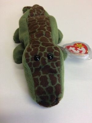 b8d28dc3abd ALLY THE ALLIGATOR Mint TY Beanie Baby Retired -  7.00
