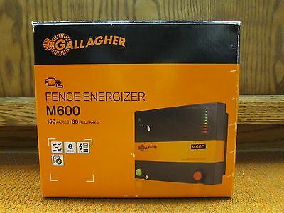 NEW GALLAGHER M-600 Fence Energizer