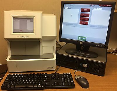 Idexx Catalyst DX Veterinary Chemistry Blood Analyzer, VetLab Station + Software
