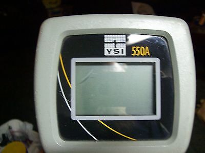 YSI  Model 550A Dissolved Oxygen Meter 25-ft  probe cables