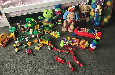 Bulk Lot Of Toys Fisher Price, Leap Frog , Little Tikes And More