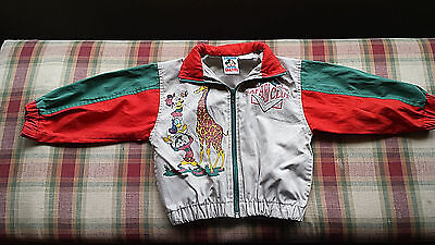 Rare MICKEY MOUSE SAFARI CLUB Jacket 2T 3T Jacket Donald Duck Jungle Animals HTF