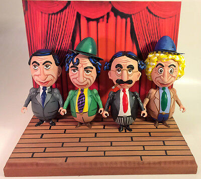 MARX BROTHERS  EGG ART CREATION (4 FIGURES) 1-of-a-kind! - A MUST SEE!