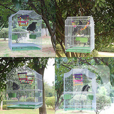 UK Heritage Bird Cages Corfe Budgie Finch 33x30x44CM Budgies Canary Small Food