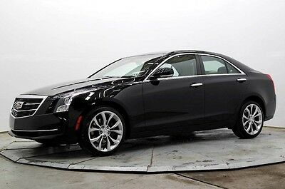 2015 Cadillac ATS 2.0T AWD AWD 2.0T Luxury Nav R Camera Htd Seats Pwr Sunroof 12K Bose 18in Alloys Save