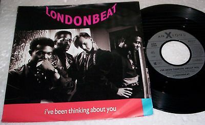 """LONDONBEAT - I'VE BEEN THINKING ABOUT YOU / 9 AM - 7"""" Single - 1990"""