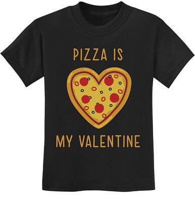 Pizza Is My Valentine - Valentine's Day Gift for Pizza Lovers Youth Kids T-Shirt