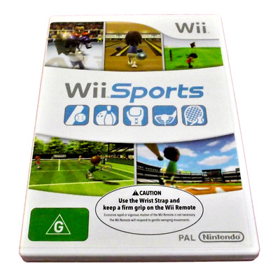 Wii Sports Nintendo Wii PAL *No Manual* Wii U Compatible