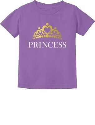 Princess Crown Gift for Daughter - Little Girl Toddler/Infant Kids T-Shirt