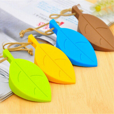 Silicone Leaves Decor Design Door Stop Stopper Jammer Guard Baby Safety Home LM