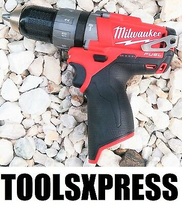 Milwaukee M12CPD-0 12V Fuel Li-Ion Cordless Hammer Drill Driver - TOOL ONLY