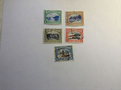 Trinidad,New currency scenes, 5 stamps