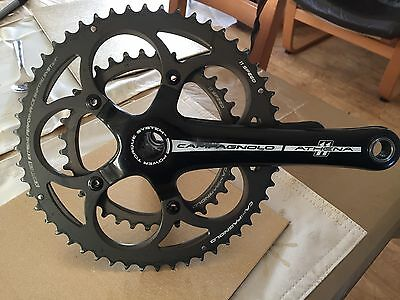Campagnolo Athena 11 Speed 52/36 Chainset 175mm Power Torque With BB
